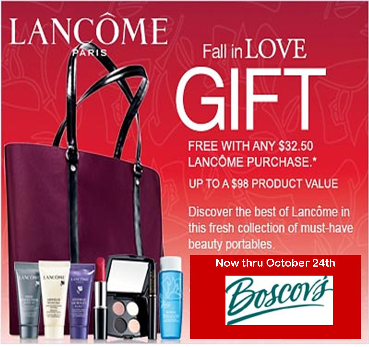 lancome gift with purchase at dillards cbt promo lancome gift