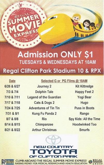 Movies At Regal Cinemas Clifton Park