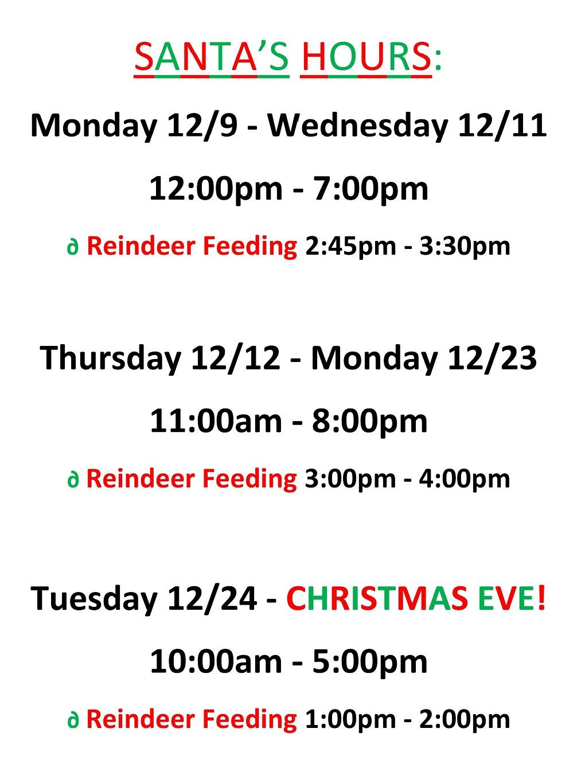 Clifton Park Center | Santa is HERE at Clifton Park Center Mall!