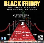 BLACK FRIDAY at Clifton Park Center Mall